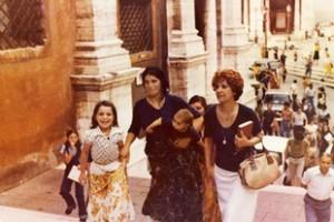 Linda Zammataro sale al Campidoglio con e donne del Mandrione