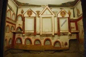Tomba dei Dipinti - Aula Decima - Terme di Diocleziano