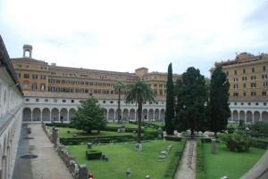 Chiostro della Certosa - Santa Maria degli Angeli
