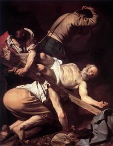 La Crocifissione di san Pietro - Caravaggio