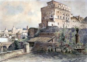 Torre di Paolo Terzo - Ettore Roesler Franz