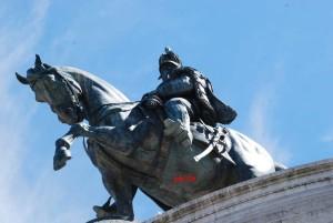 Statua di Vittorio Emanuele II