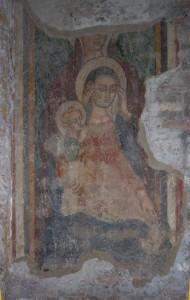Madonna con BAmbino e Sant'Anna - San Benedetto in Piscinula - Trastevere
