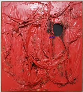 Grande Rosso P.N. 18 - Alberto Burri - Galleria Nazionale d'Arte Moderna
