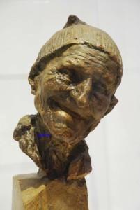 Il Vecchio (Sciur Faust) - Medardo Rosso - Galleria Nazionale d'Arte Moderna