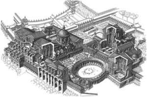 A pasquetta la villa dei quintili roma felix for Grande planimetria della camera singola storia