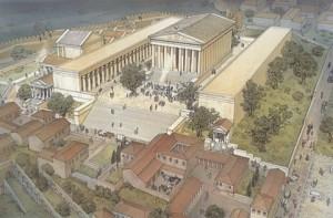 Tempio di Quirino - Ricostruzione