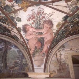 Loggia - Affreschi di Paul Bril e Guido Reni