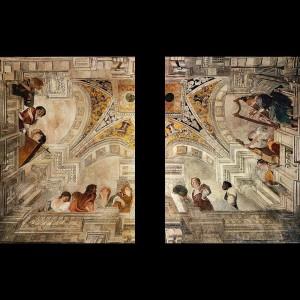 Casino delle Muse - Orazio Gentileschi ed Agostino Tassi