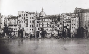 Ghetto prima della costruzione dei Muraglioni