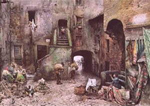 Piazza delle Azimelle - Ghetto - Roesler Franz