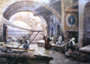 Mercato del pesce - Portico d'Ottavia - Roesler - Franz