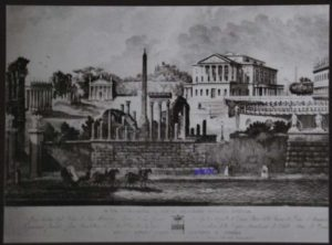Villa Torlonia in un'incisione del 1842