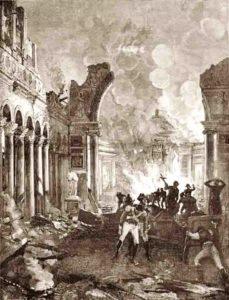 Incendio della Basilica di San Paolo Fuori Le Mura