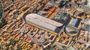 Stadio di Domiziano ed Odeon - ricostruzione