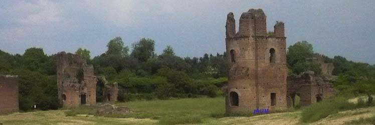 Meraviglie dell'Appia Antica. Mausoleo di Romolo e Villa di Massenzio