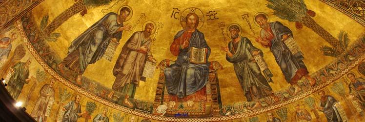 Sulle vie di Paolo di Tarso: la basilica di San Paolo Fuori le Mura, l'area archeologica, il chiostro, la pinacoteca.