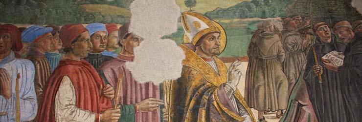 Cappella Funebre del Cardinal Bessarione, Dedicata alla Madonna e ai Santi Michele Arcangelo, Giovanni Battista ed Eugenia
