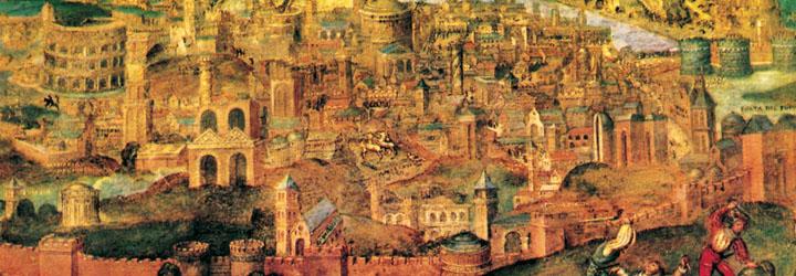 Roma a ferro e a fuoco. I luoghi del Sacco del 1527.