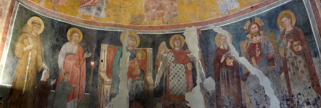 La piccola chiesa di Santa Passera alla Magliana