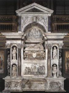Tomba del papa Adriano VI - Baldassarre Peruzzi.