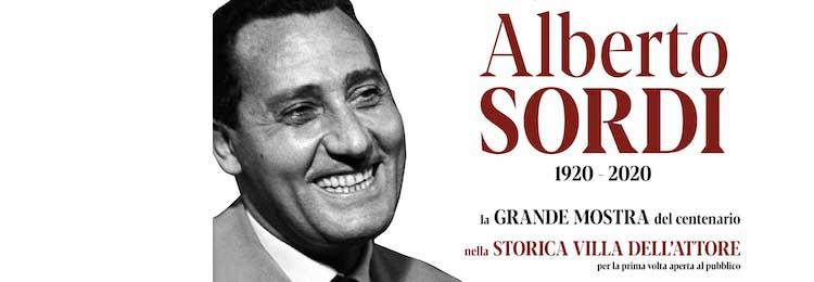 Il Centenario: Alberto Sordi 1920-2020. La mostra a Villa Sordi